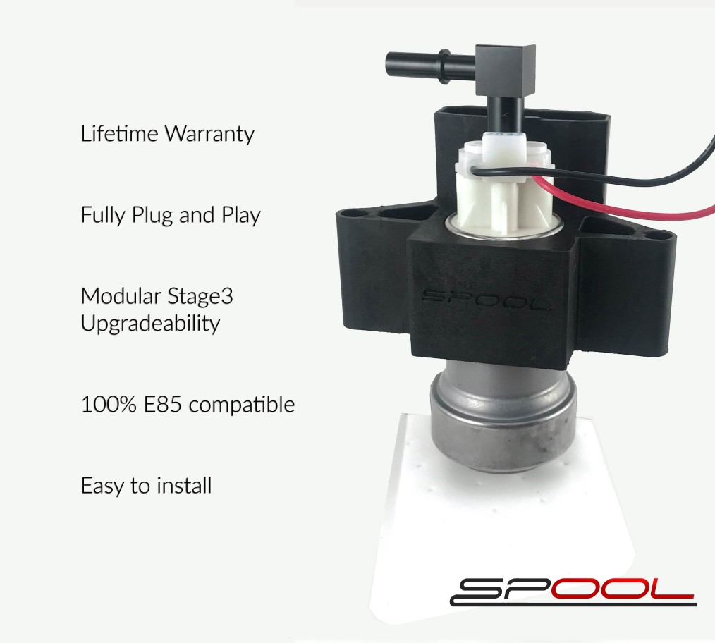 E9X/E8X Stage 2 Bucketless Low Pressure Fuel Pump
