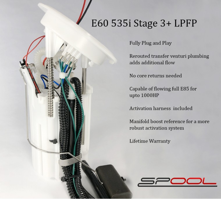 E60 535i Stage 3+ Low Pressure Fuel Pump