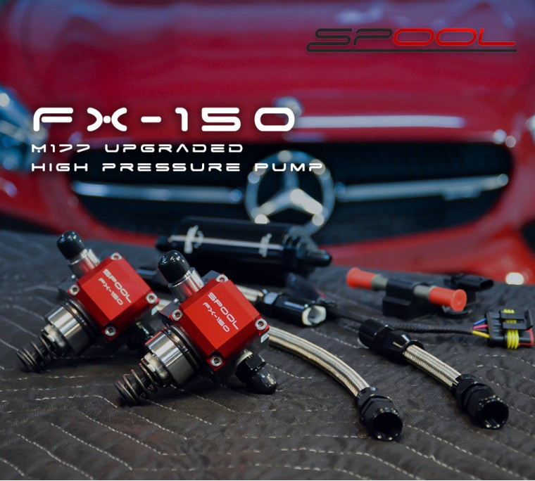 C63 AMG [M177] Spool FX-150 upgraded high pressure pump kit